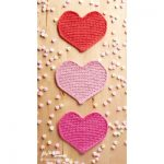 Lots of Love Crochet Dishcloth Free Pattern 1