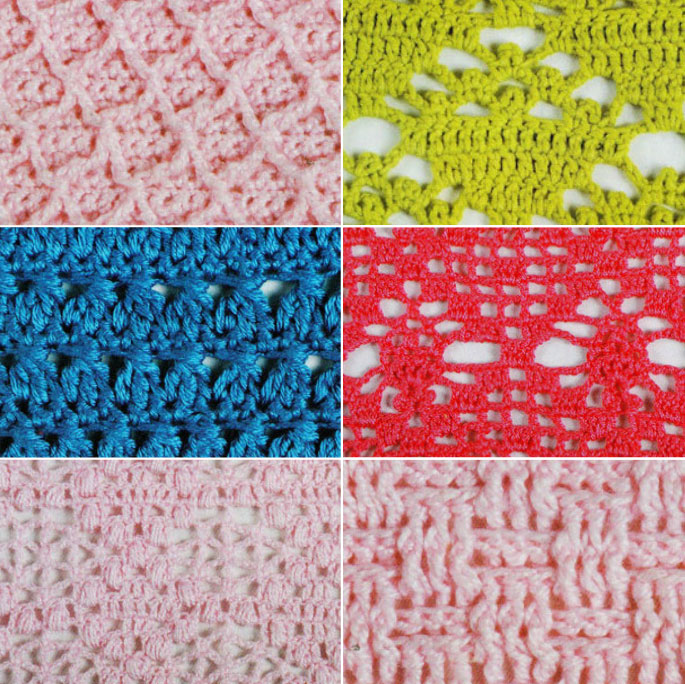 New Crochet Stitches 2017
