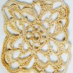 Pretty Lace Square Crochet Pattern