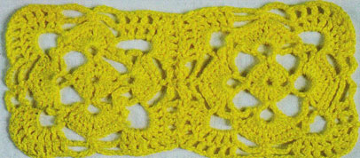 Rounded Edges Crochet Square Pattern