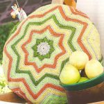 Crochet Star Pillow Pattern