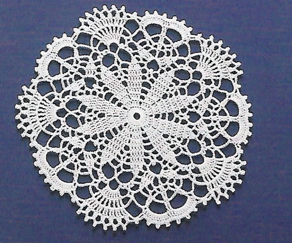 Stunning Lace Crochet Circle Pattern