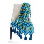 Waving to Granny Crochet Blanket Free Pattern
