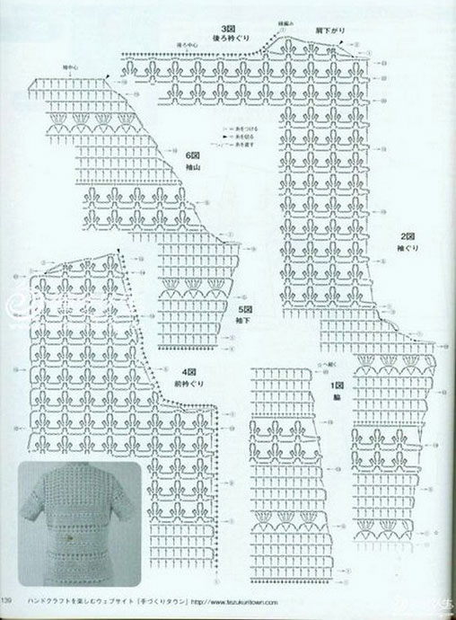 Pretty and feminine crochet cardigan pattern diagram crochet kingdom more patterns ccuart Image collections