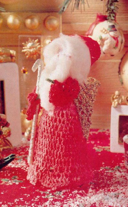Crochet santa clause pattern