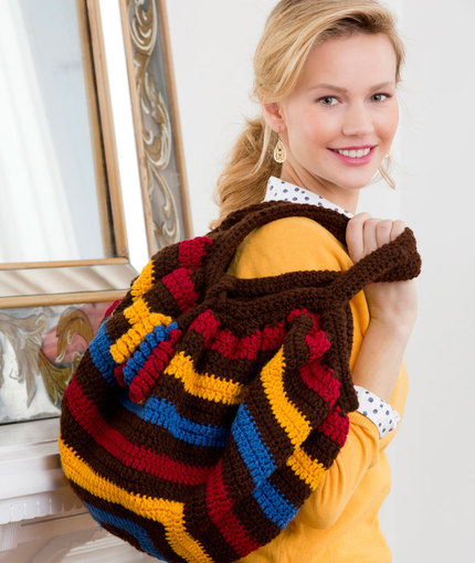 Phat Fat Bag Free Crochet Pattern