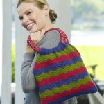 Wavy Shoulder Bag Free Crochet Pattern