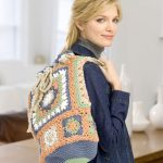 Oversized Granny Bag Free Crochet Pattern