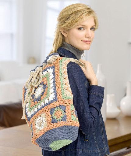 Oversized Granny Bag Free Crochet Pattern