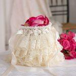 Ruffled Wedding Bag Free Crochet Pattern