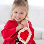 Here's My Heart Gift Bag Free Crochet Pattern for Girls