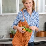 Lacy Crochet Market Bag Free Crochet Pattern