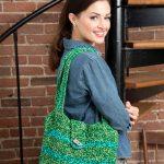 Trendy Tote Bag Free Crochet Pattern