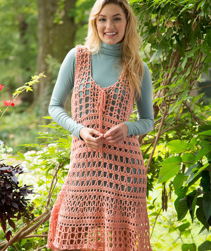 North Shore Cover Up Free Crochet Pattern