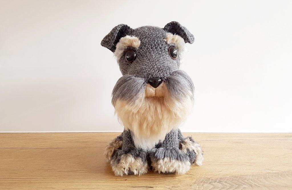 Amigurumi Schanuzer Dog Free Crochet Pattern