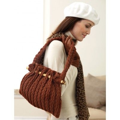 Autumn Tote Bag Free Crochet Pattern
