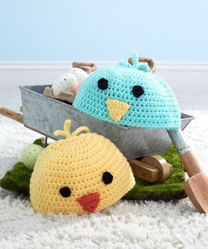 Baby Chick Hats Free Crochet Pattern