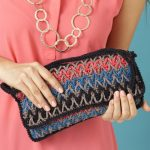 Bargello Stripes Purse Free Crochet Pattern