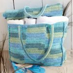 Beach Bag & Mat Free Crochet Pattern