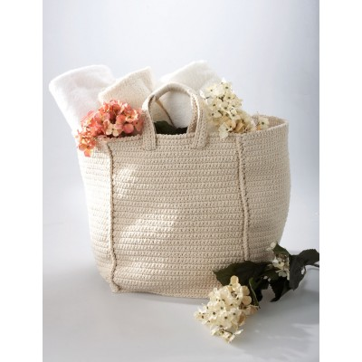 Bernat Cottage Bag Free Easy Crochet Pattern