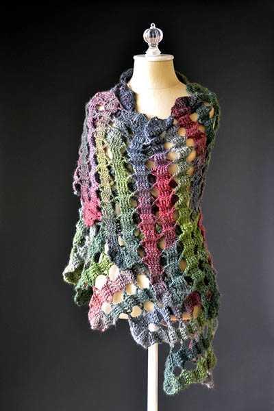crochet shawl pattern free