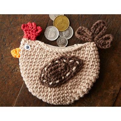 Cluck Cluck Change Purse Free Crochet Pattern