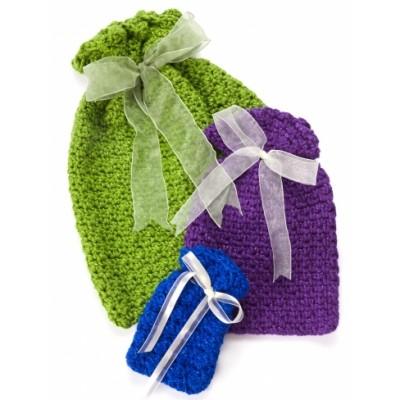 Crochet Gift Bags Free Crochet Pattern Crochet Kingdom
