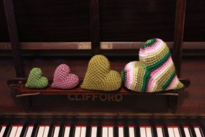 Love crochet? You'll love these hearts x