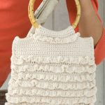 Crochet Ruffled Bag Free Crochet Pattern