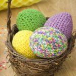 Easter Eggs Free Crochet Pattern