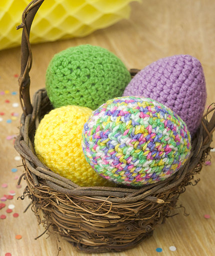 Easter Eggs Free Crochet Pattern