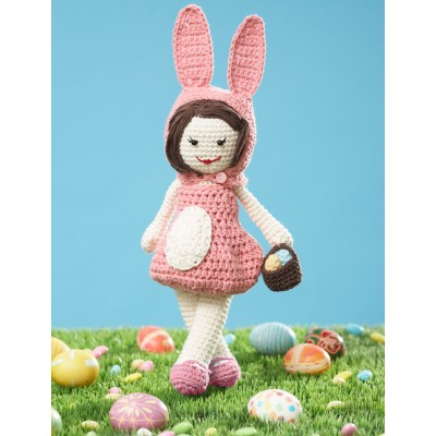 Easter Lily Doll Free Crochet Pattern