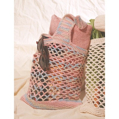 The Best Free Crochet Mesh Market Bag Pattern Selection On The Web