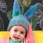 Fluffy Bunny Hat crochet pattern for baby