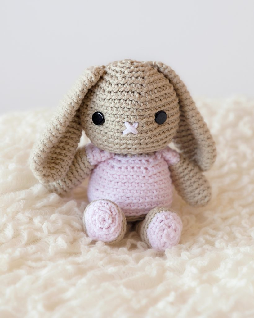 Amigurumi Cracker Girl Bunny Free Pattern-Part-3 - Tiny Mini ... | 1024x819
