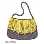 Fringe Benefits Bag Free Crochet Pattern