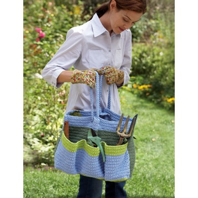 Garden Bag Free Crochet Pattern