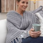 Genuine Pleasure Shawl Free Crochet Pattern