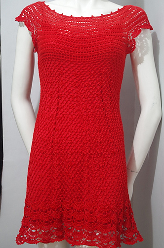 Gina Dress Free Crochet Pattern