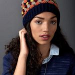 Granny Stripes Hat Easy Crochet Pattern