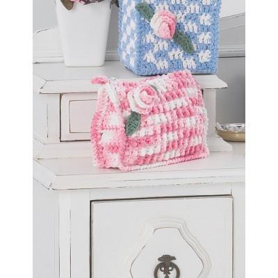 Make-up Case Free Intermediate Women's Bag Crochet Pattern