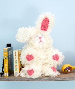 My Furry Bunny Free Crochet Pattern