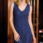 Nightfall Free Crochet Dress Pattern