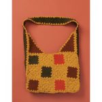 Patons Felted & Crochet Patchwork Bag