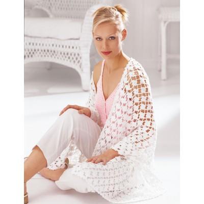 Patons Floral Shawl Free Crochet Pattern