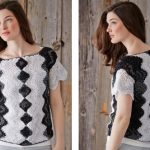 Patons Meet Me In the Middle Top Free Crochet Pattern