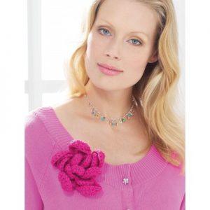 Patons Rose Free Crochet Pattern