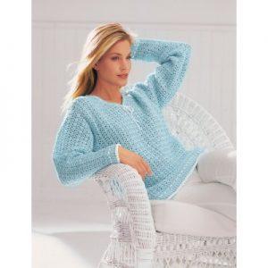 Free Intermediate Women's Sweater Crochet Pattern