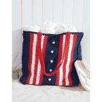 Patriotic US Bag Free Crochet Pattern