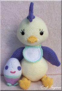 Pot Belly Baby Chicklet Free Crochet Pattern